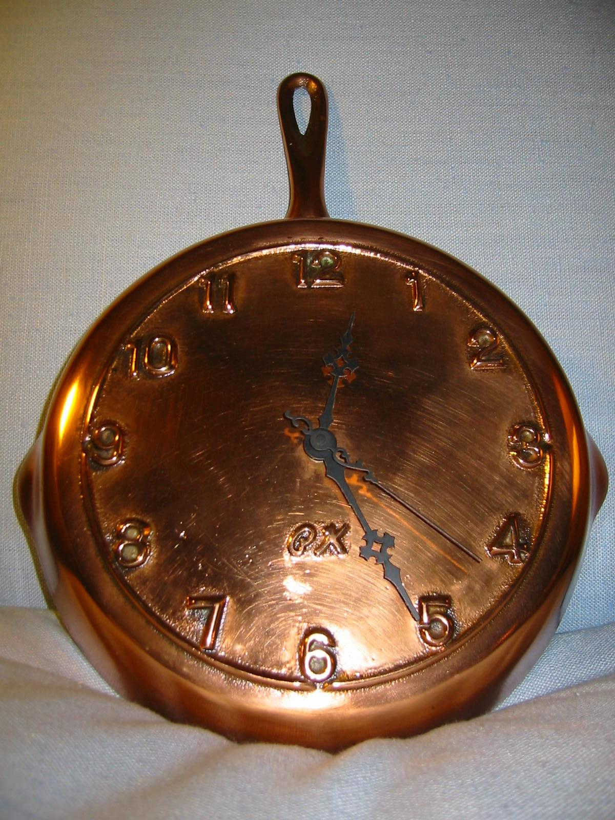 Impressive Copper Wall Clock Best