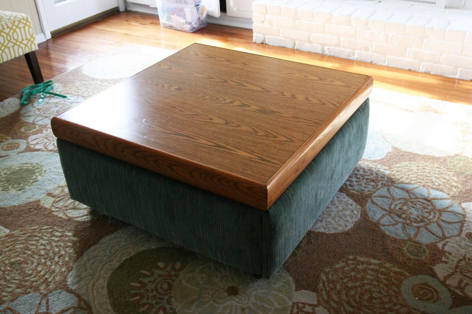 Impressive Diy Storage Ottoman Coffee Table