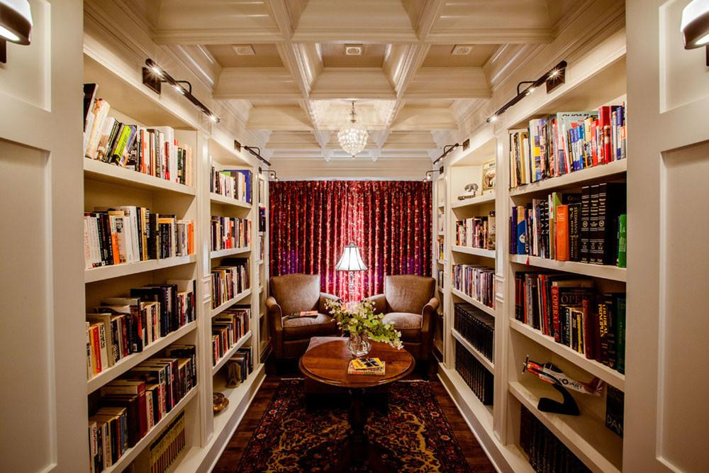 Impressive Home Library Design Ideas 2017
