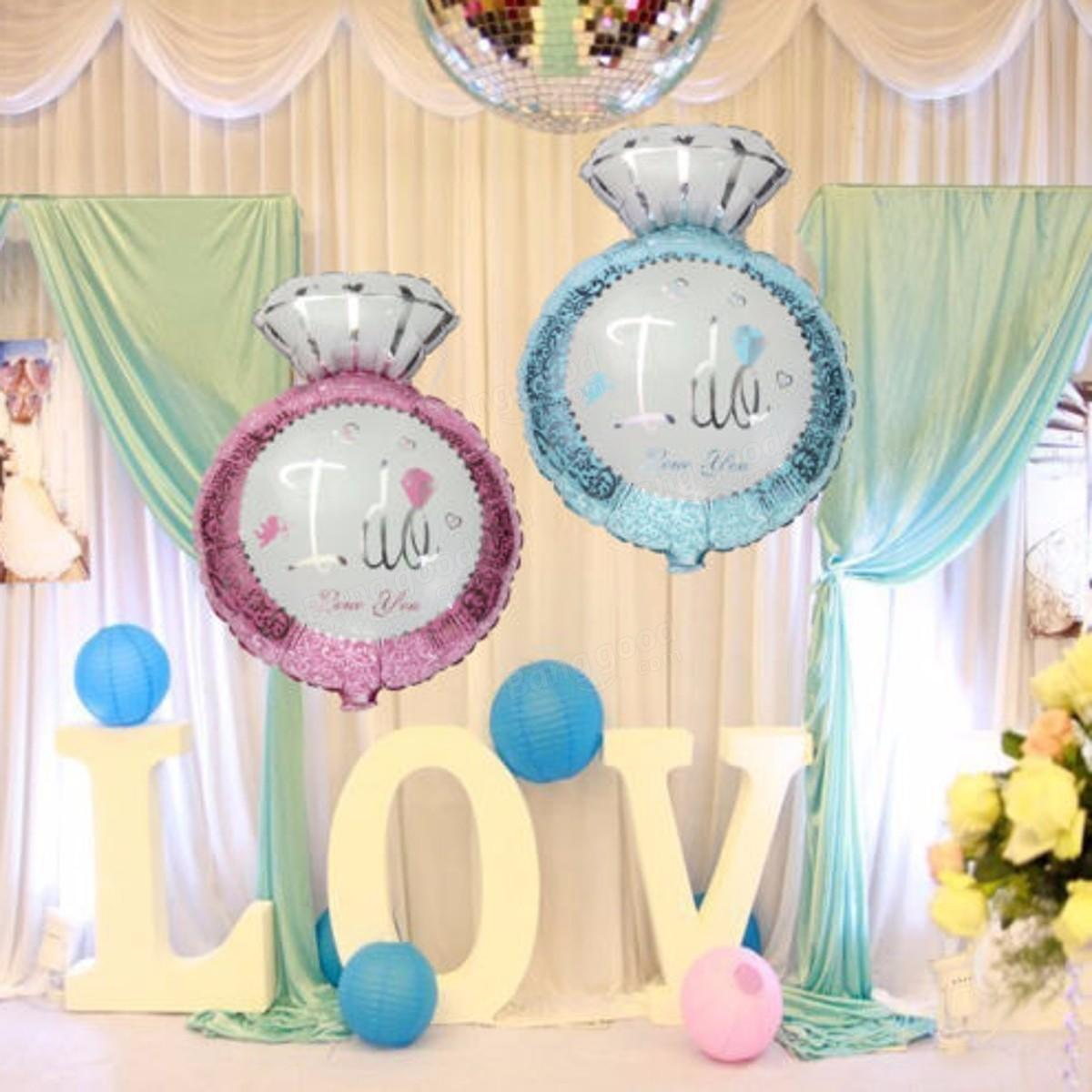 Inch Big Foil Helium Engagement Balloon