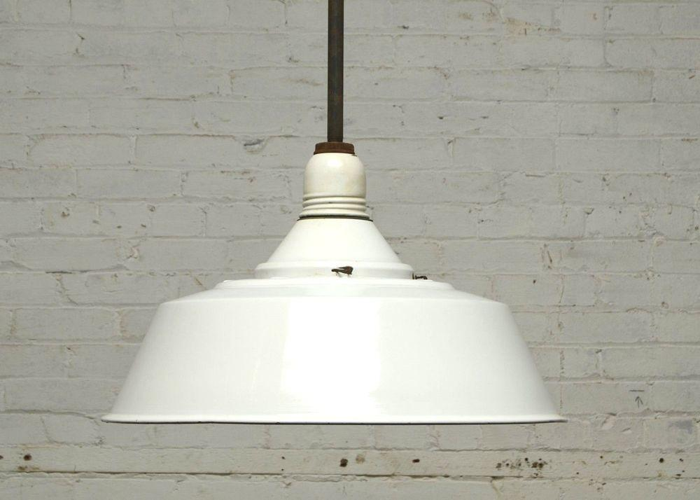 Inch Industrial Porcelain Light Fixture Antique Factory
