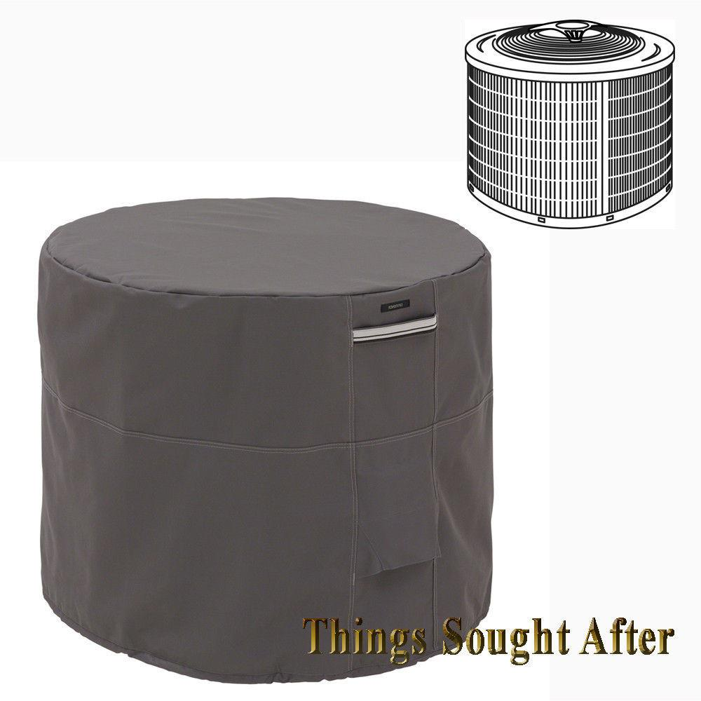 Inch Round Air Conditioner Cover Outdoor Ground