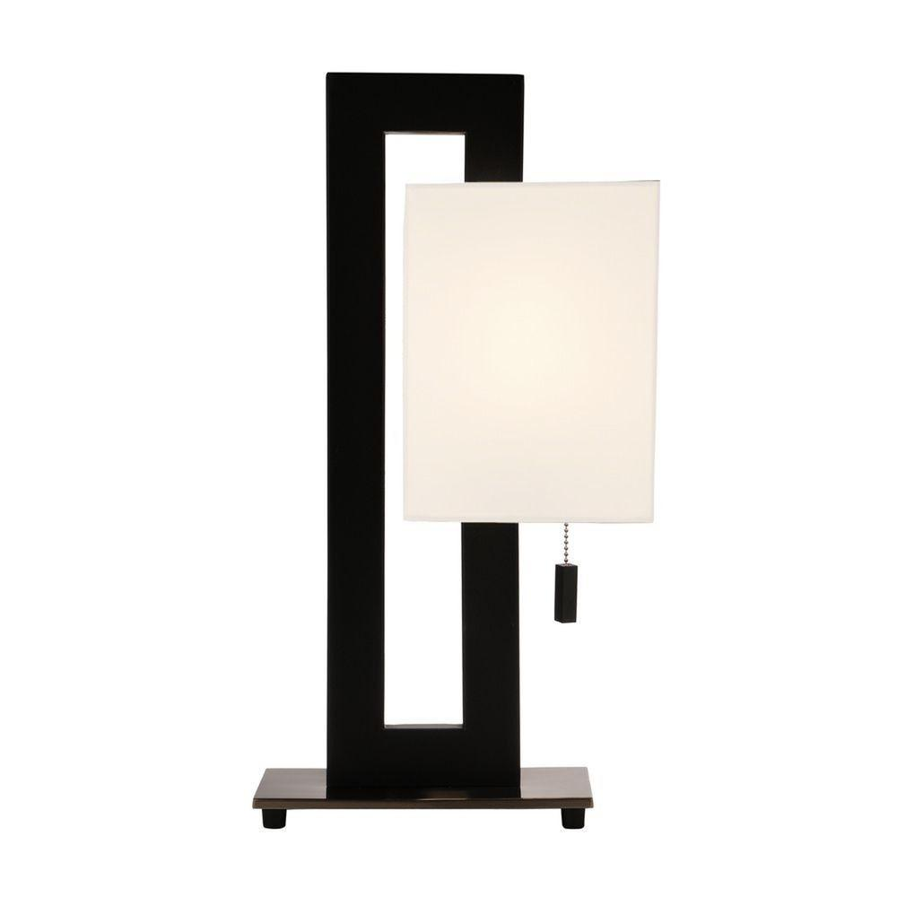 Inch Tall Modern Rectangle Table Lamp 801