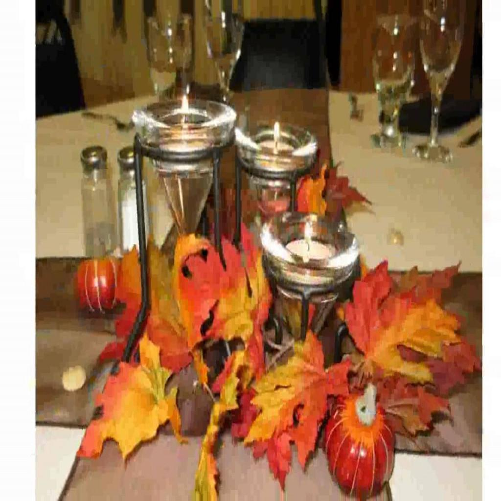 Incredible Also Gorgeous Fall Table Decoration