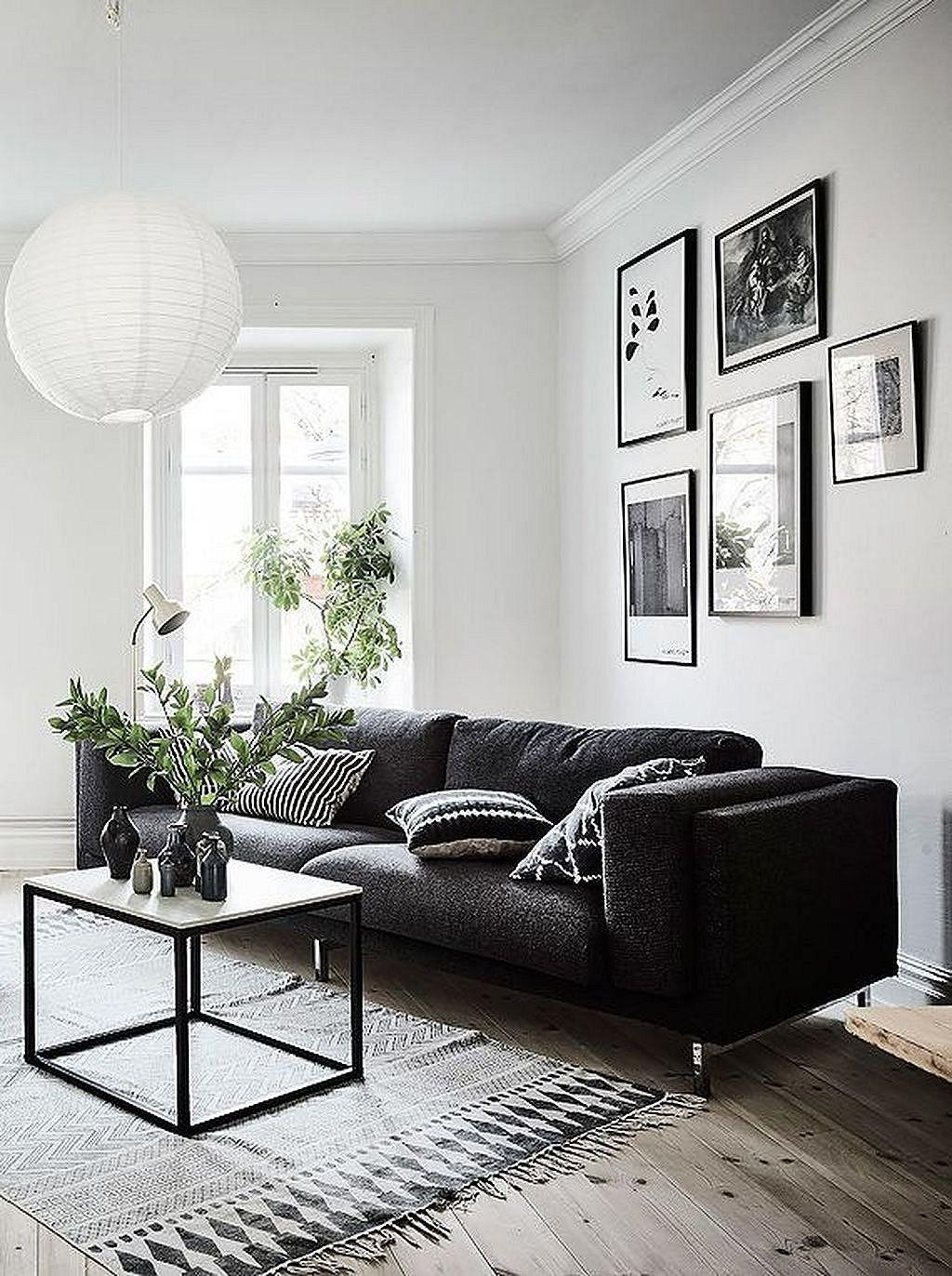 Incredible Black White Living Room Decor
