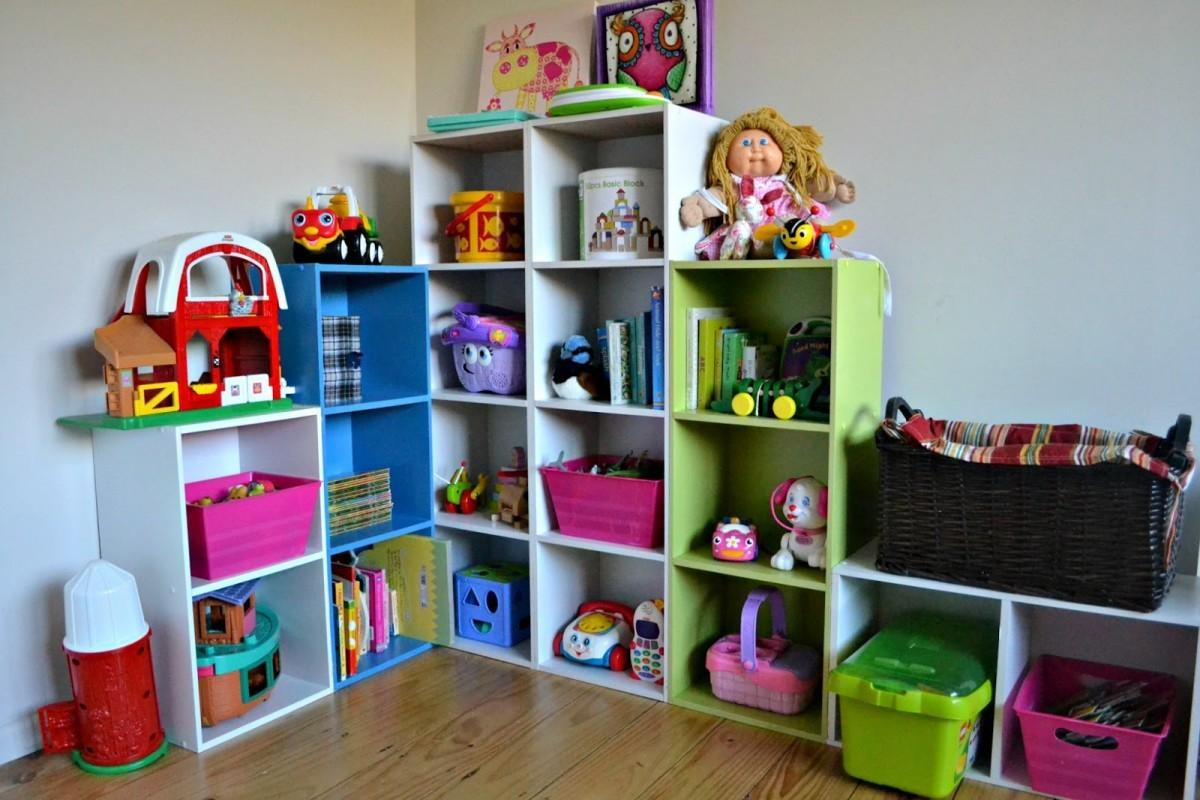 Incredible Ideas Toy Storage Shelves