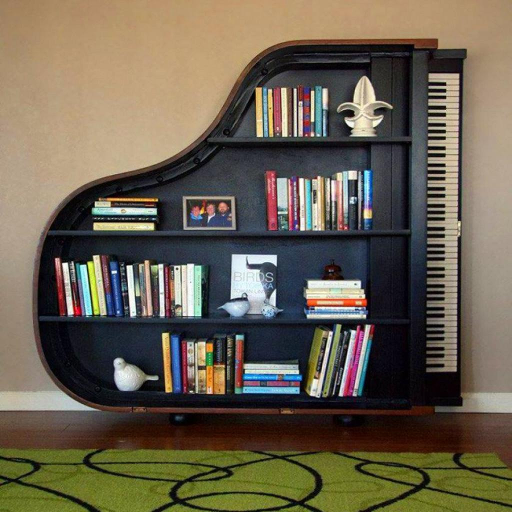 Incredible Interesting Book Shelf Designs
