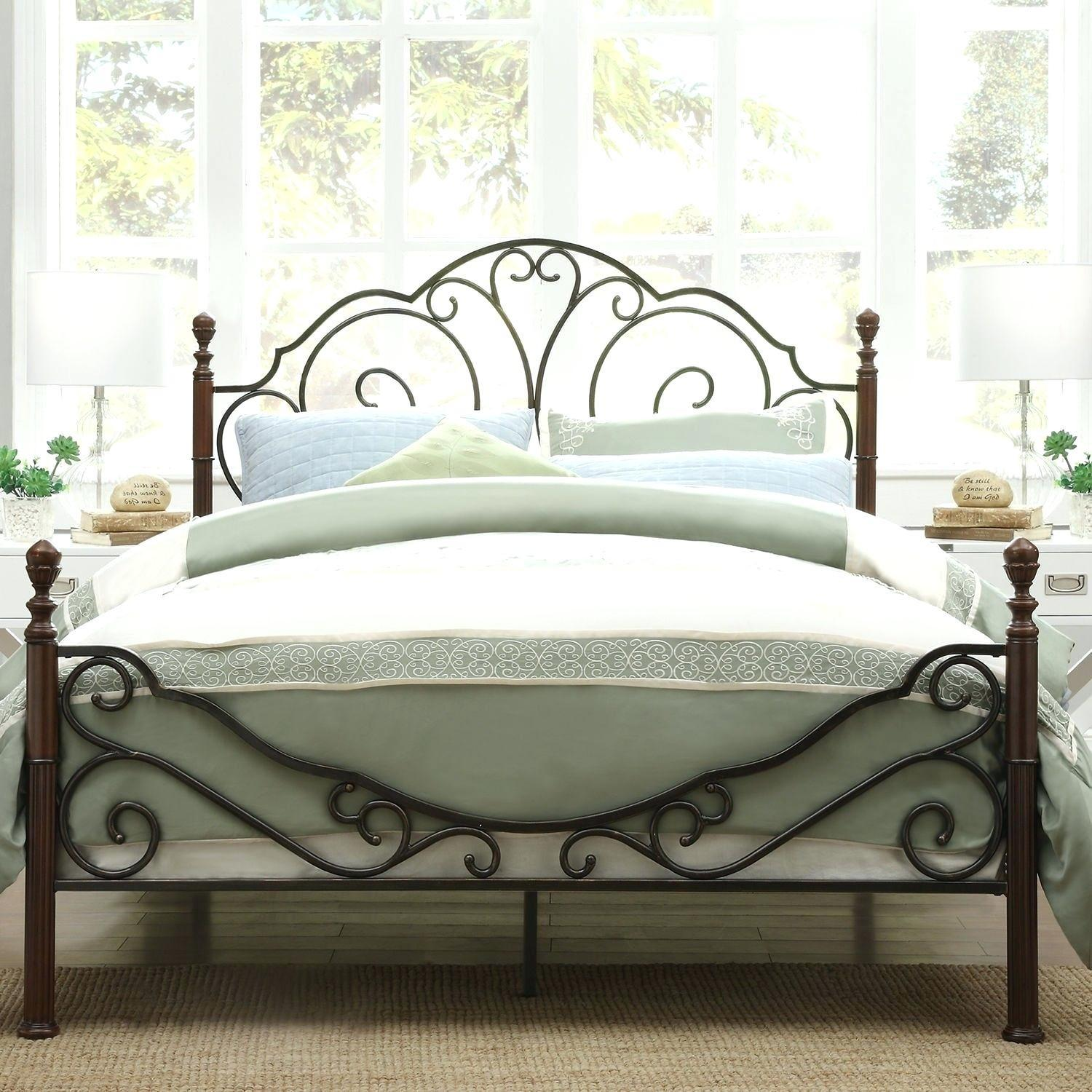 Incredible White Metal Headboard Queen Pottery Barn