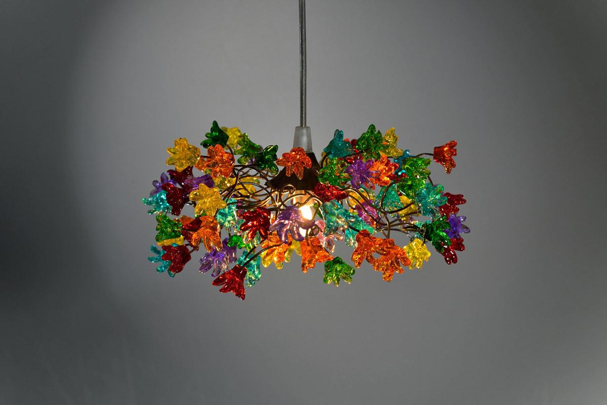 Incredibly Colorful Handmade Ceiling Lamp Designs