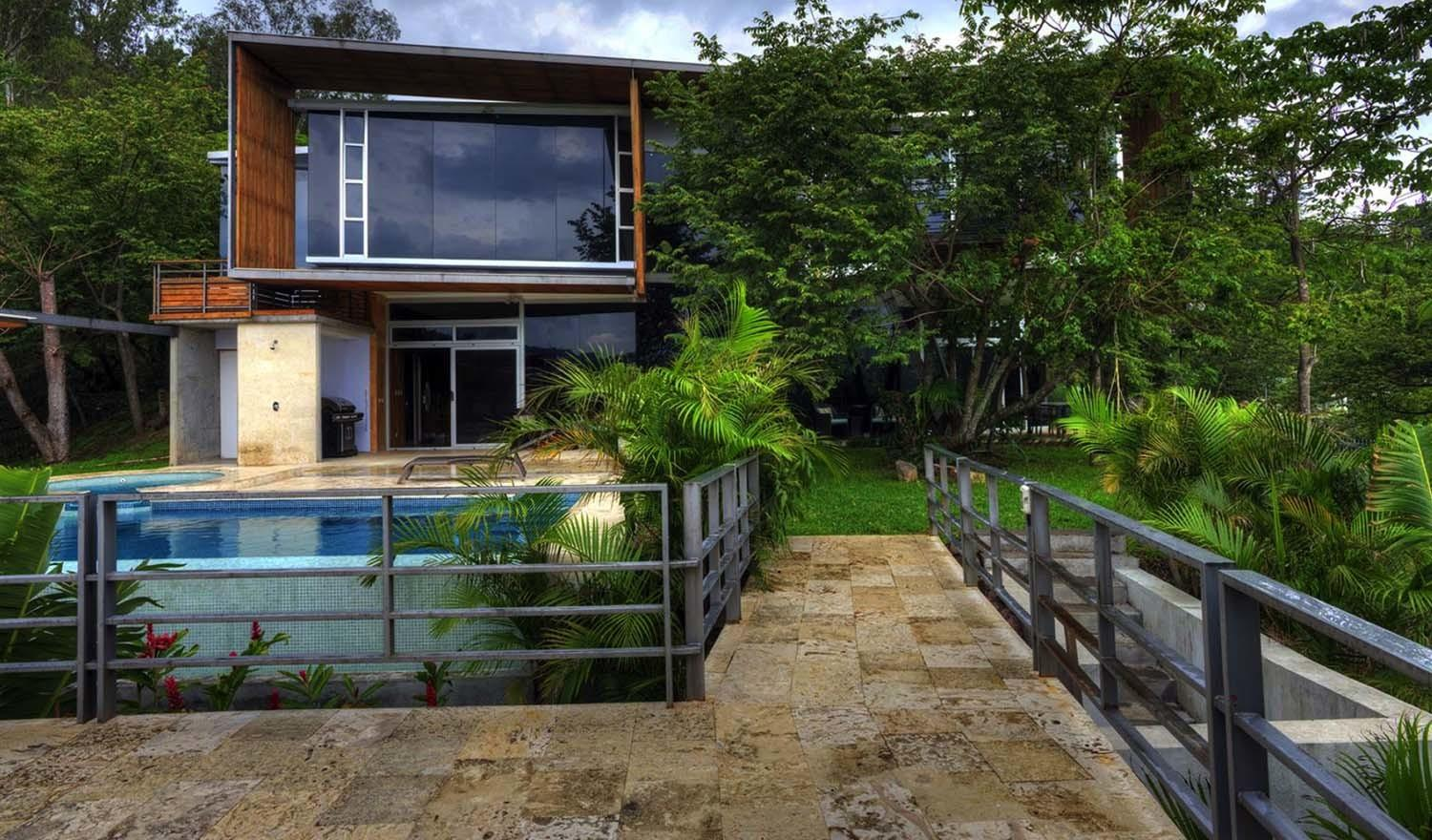 Incredibly Fascinating Eclectic Modern Home Costa Rica