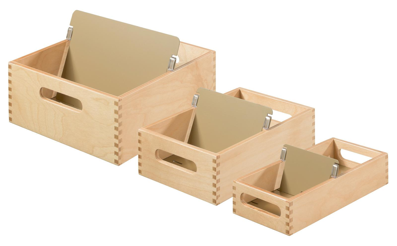 Index Card Boxes Trays Wood