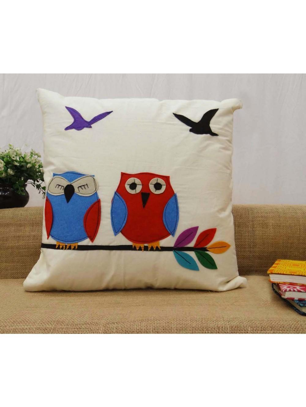 Indian Cushion Cover Patchwork Home Decor Throw Pillow