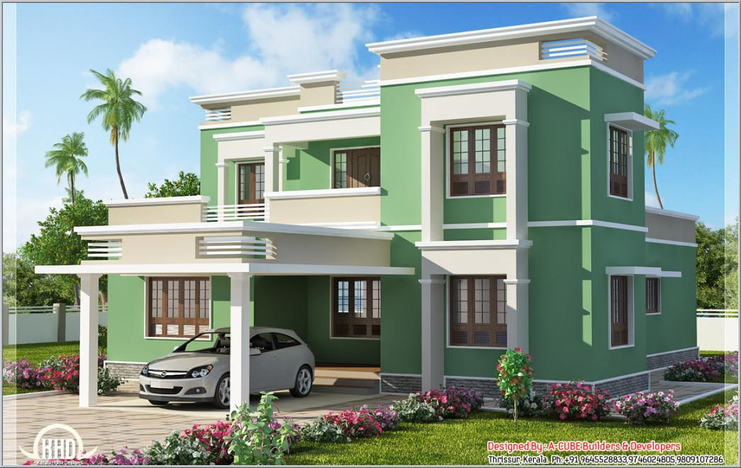 Indian Home Front Design Modern House