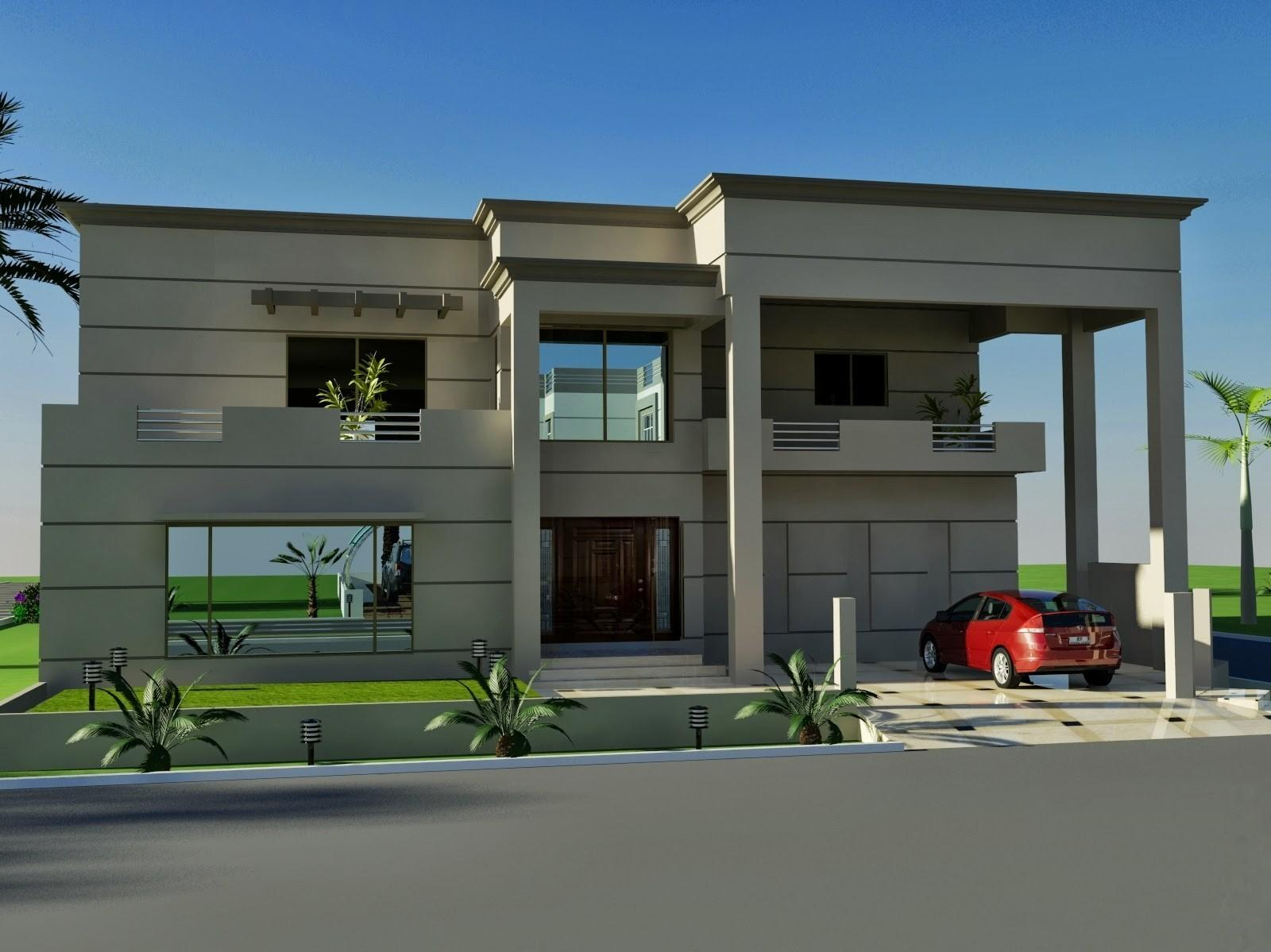 Indian Style Small House Front Elevation Modern