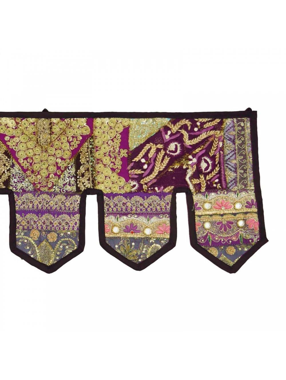 Indian Wall Hanging Embroidered Home Decor Toran Handmade