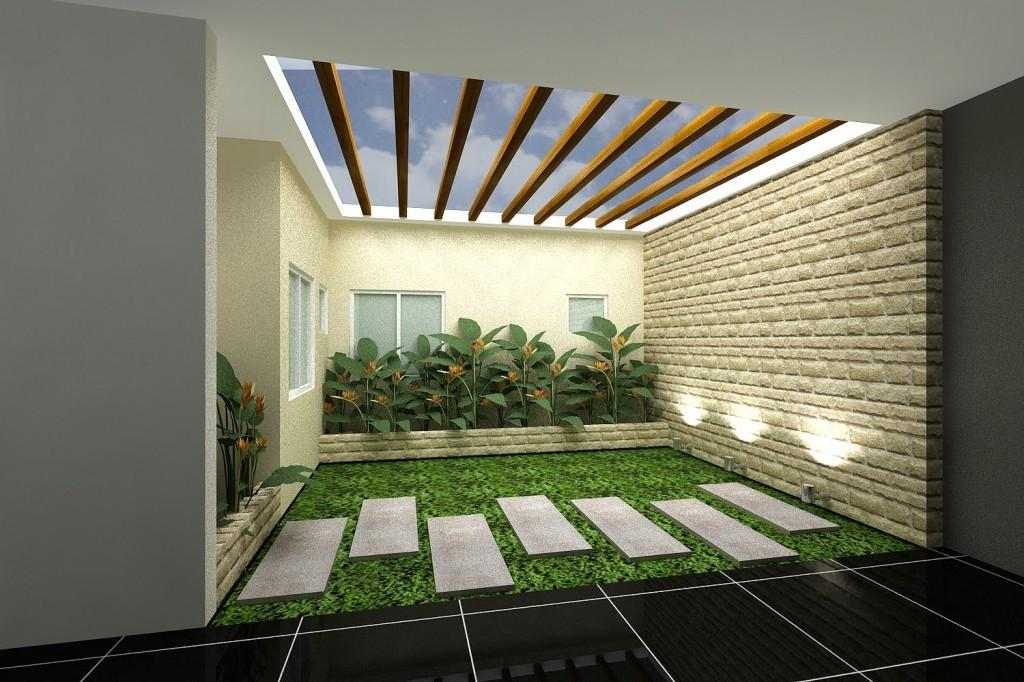Indoor Garden Design Living Room Mashing Two Things