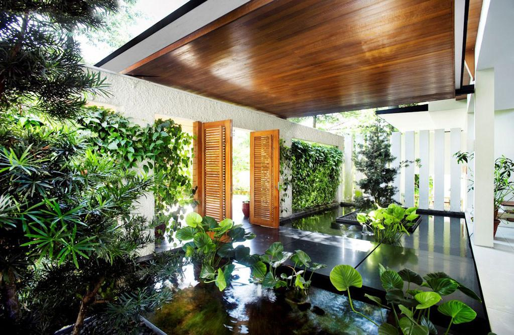 Indoor Garden Design Natural Decoration Room