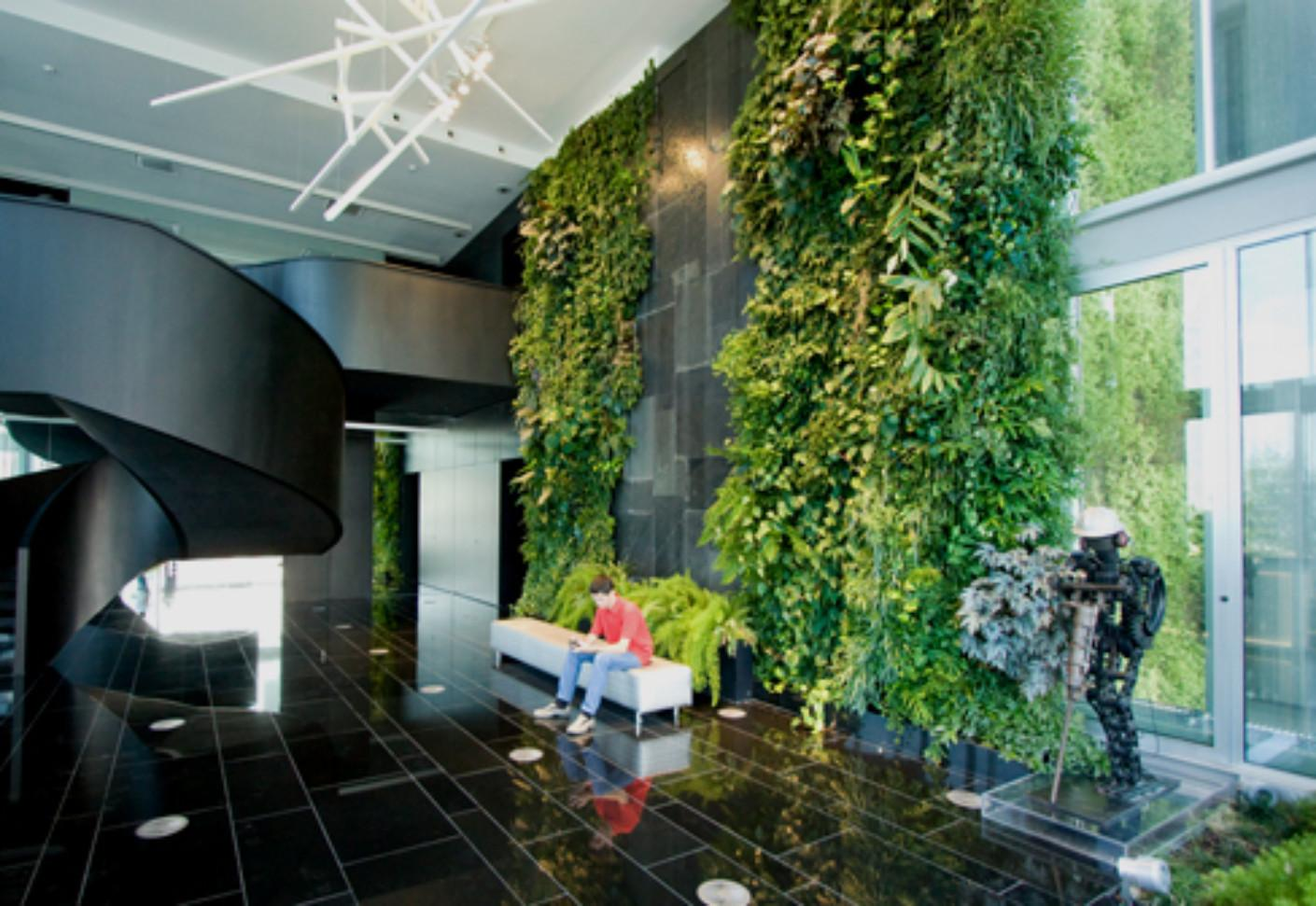 Indoor Wall Natura Towers Vertical Garden Design