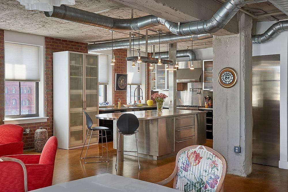 Industrial Apartment Iconic Mather Studios Gets