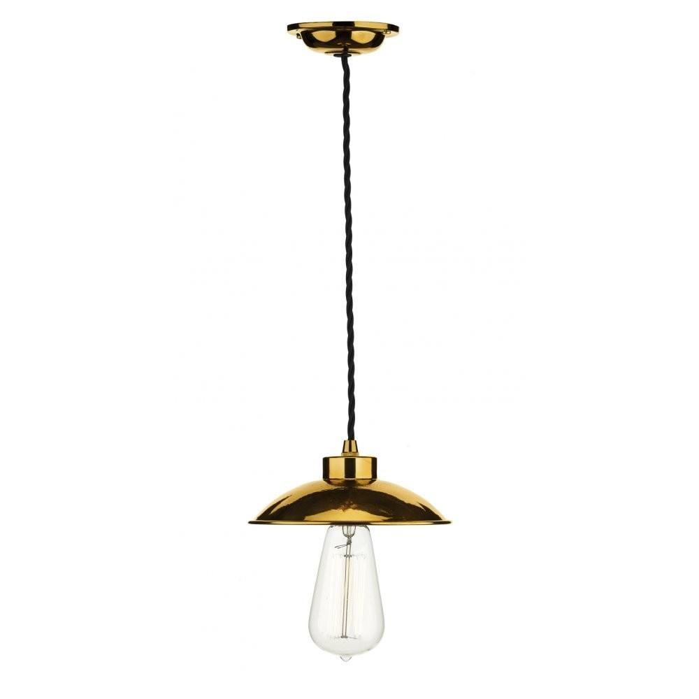 Industrial Ceiling Pendant Light Copper Supported