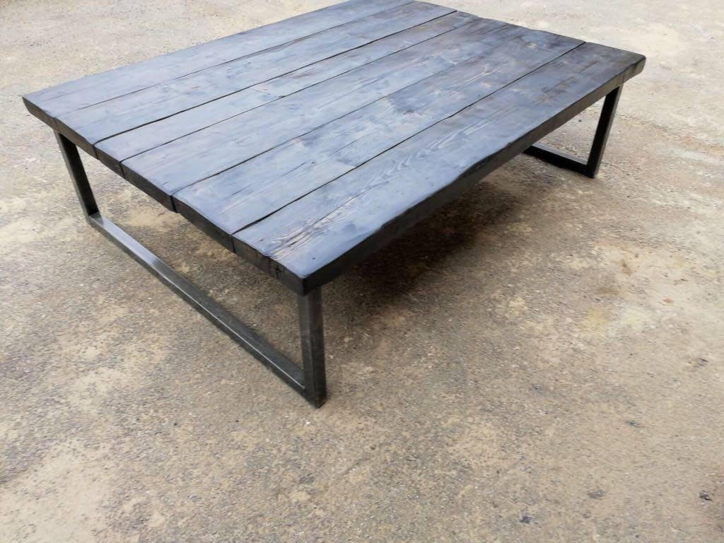 Industrial Chic Coffee Table Meonthemap
