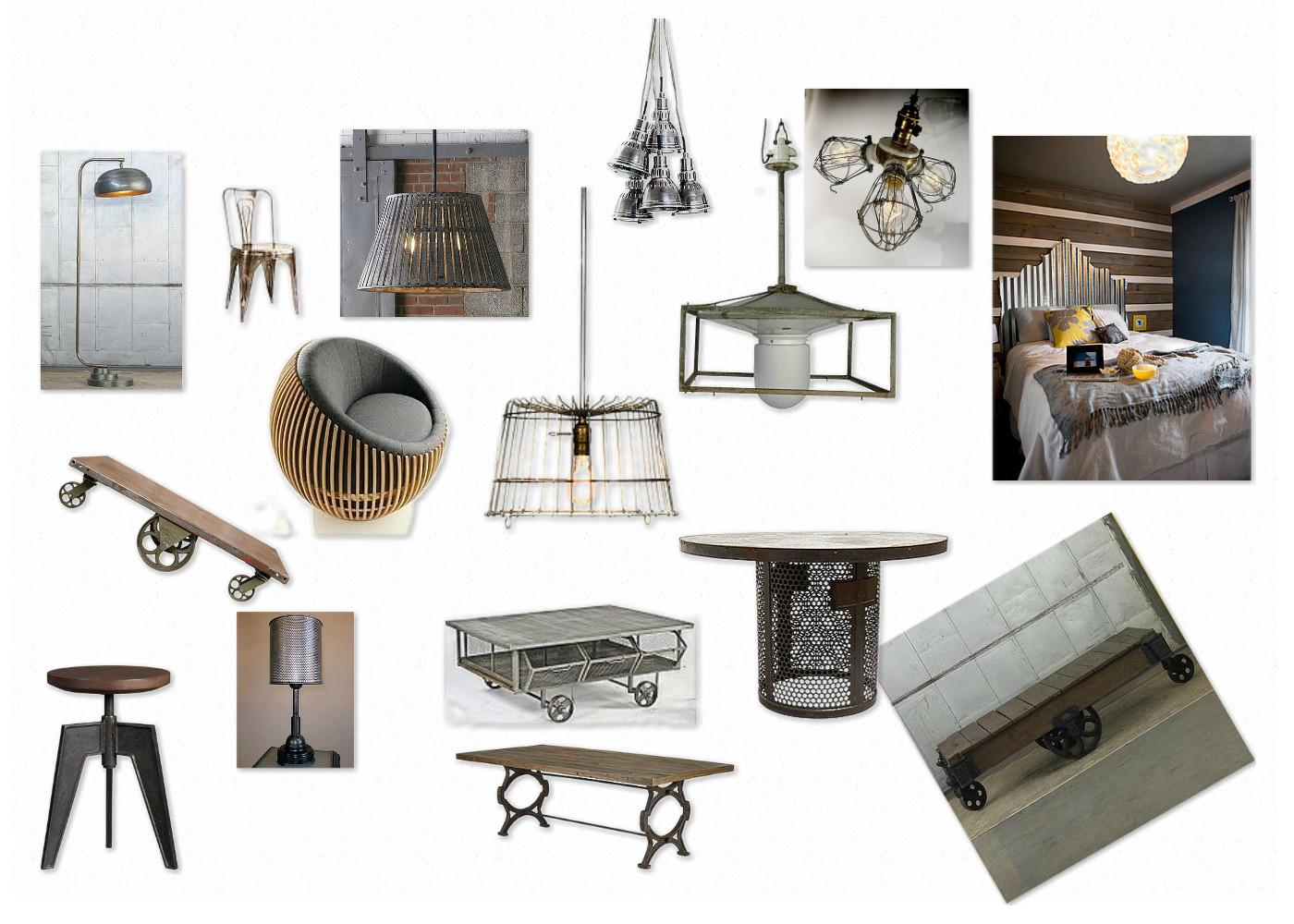 Industrial Chic Furniture Best Inspiration