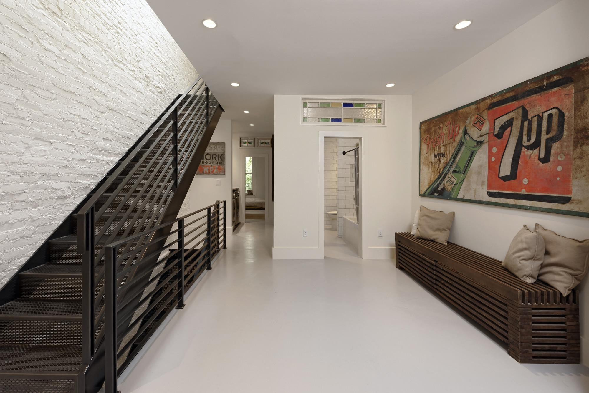 Industrial Chic Row Home Renovation Dupont Circle