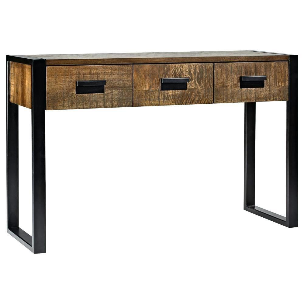 Industrial Console Table Cozy Belham Living Brinfield