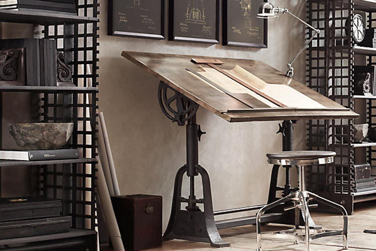 Industrial Desks Want Your Home Office