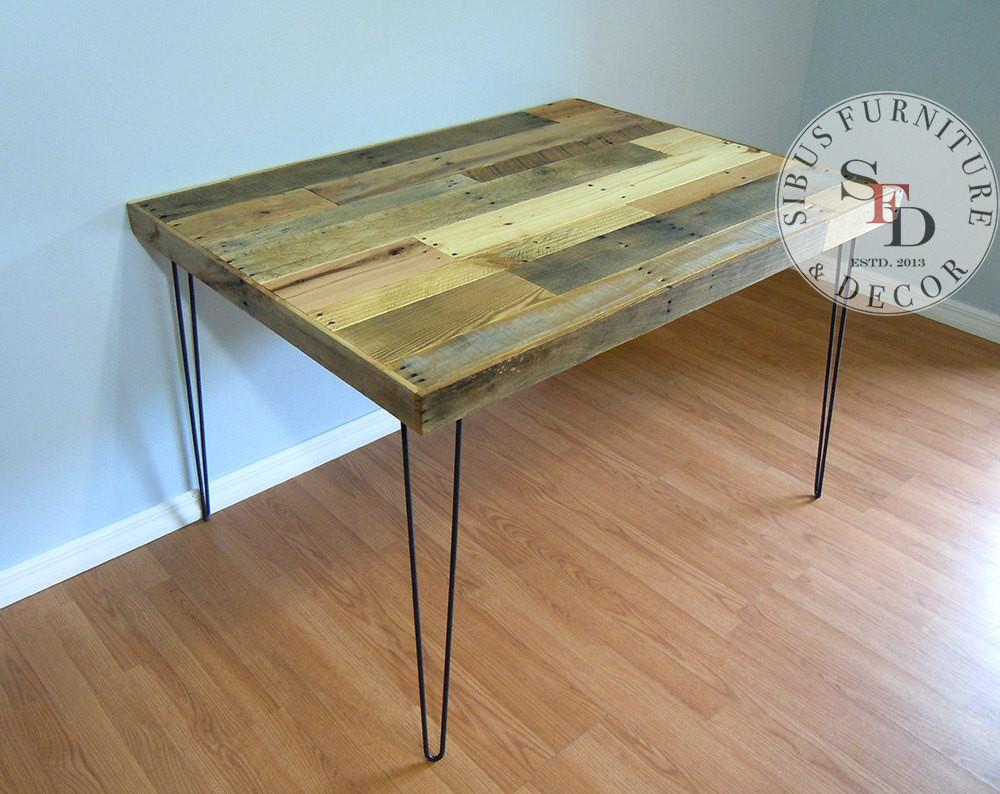 Industrial Dining Table Shipping Reclaimed Pallet