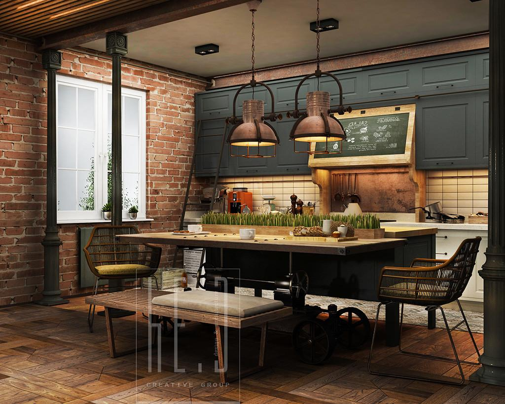 32 Extremely Beautiful Industrial Kitchen Ideas That Surely Will Amaze You Fantastic Pictures Decoratorist