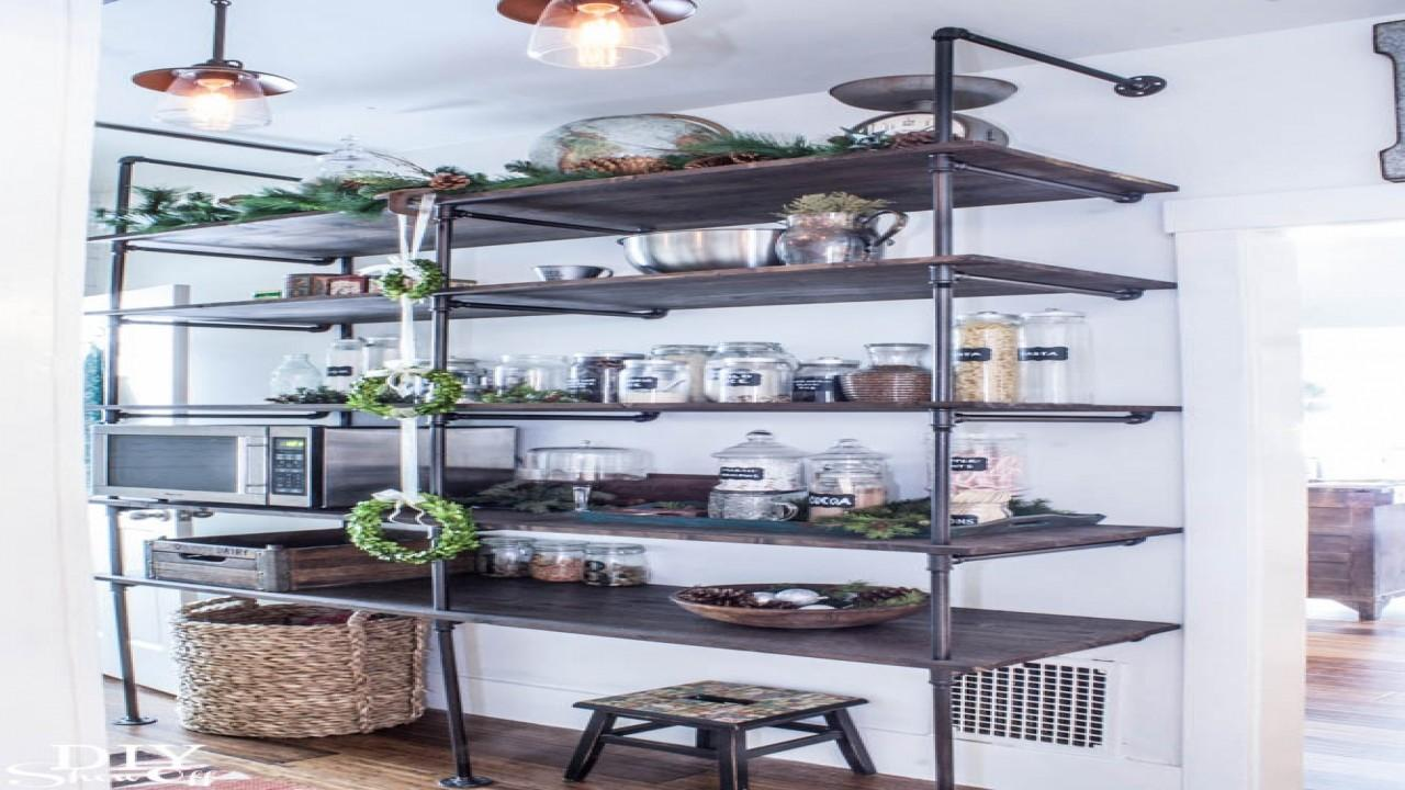 Industrial Office Furniture Pipe Shelving Diy