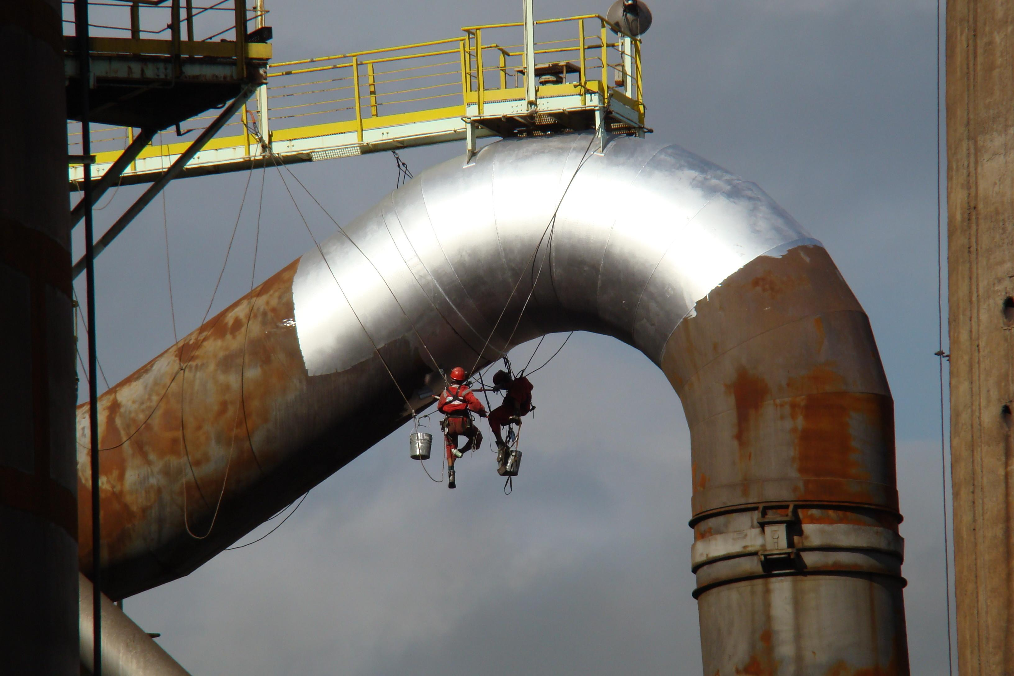 Industrial Painting Luluoil Rope Access