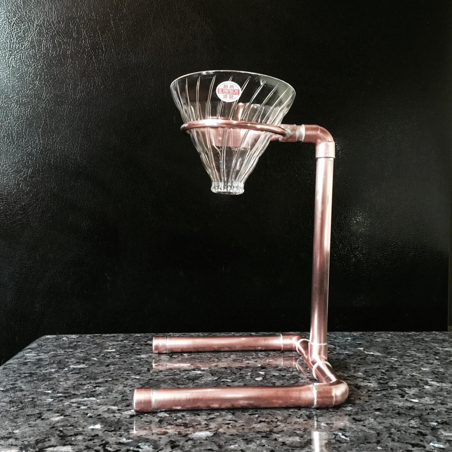 Industrial Pour Over Coffee Stand Single Double Drip