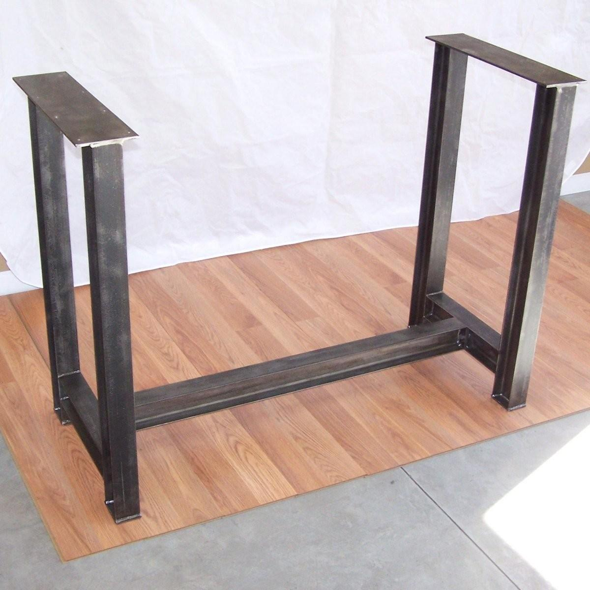 Industrial Steel Beam Bar Base Kitchen Island Heavy