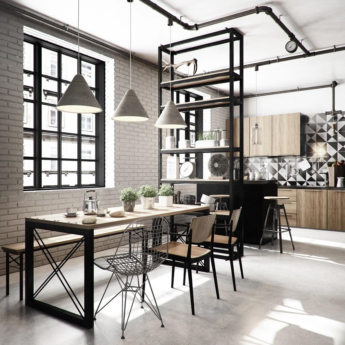Industrial Style Dining Room Design Essential Guide Decoratorist 62635