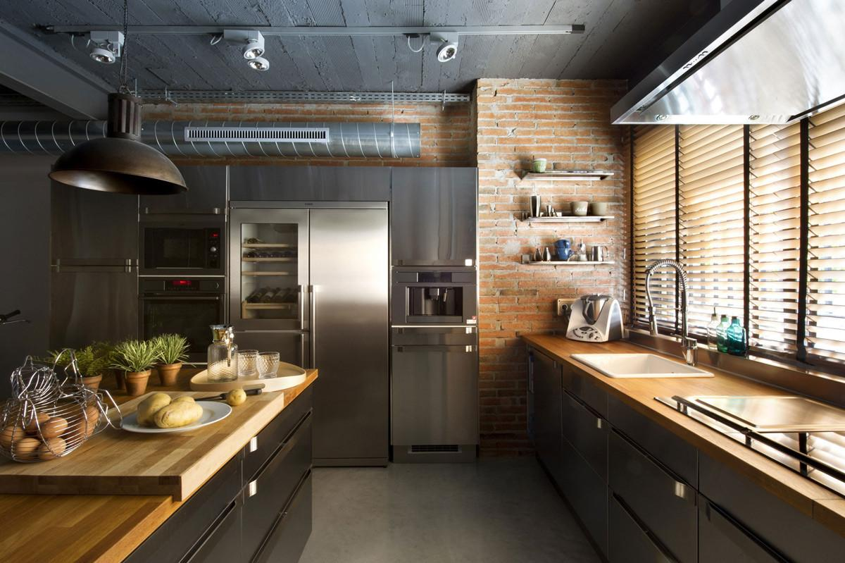 Industrial Style Kitchen Design Ideas Marvelous