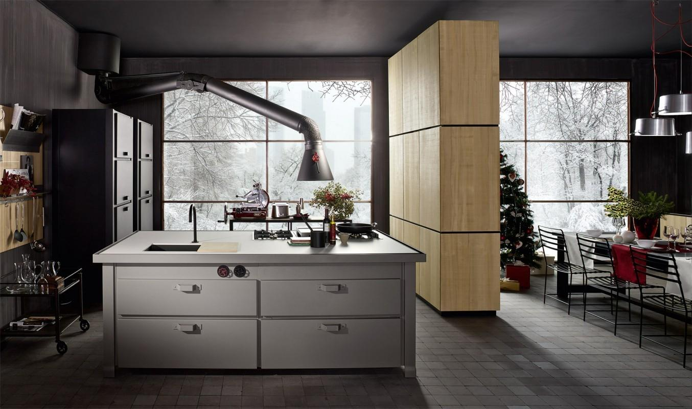 Industrial Style Kitchen Minacciolo Furniture