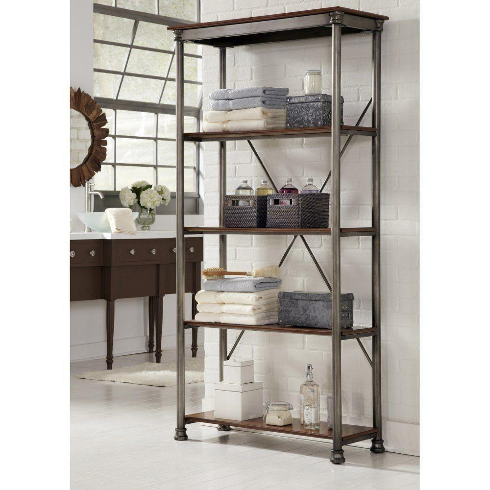 Industrial Style Shelving Office Furniture Open Display