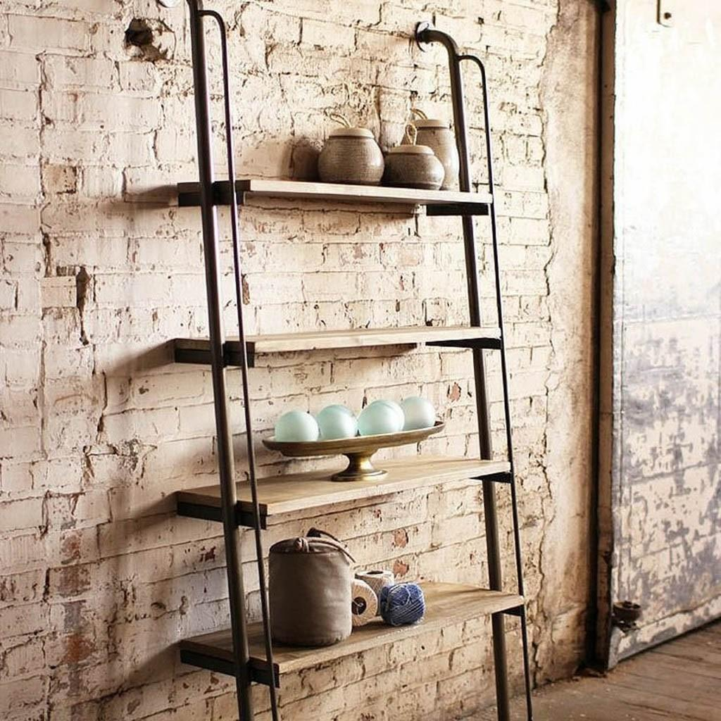 Industrial Style Wall Shelving