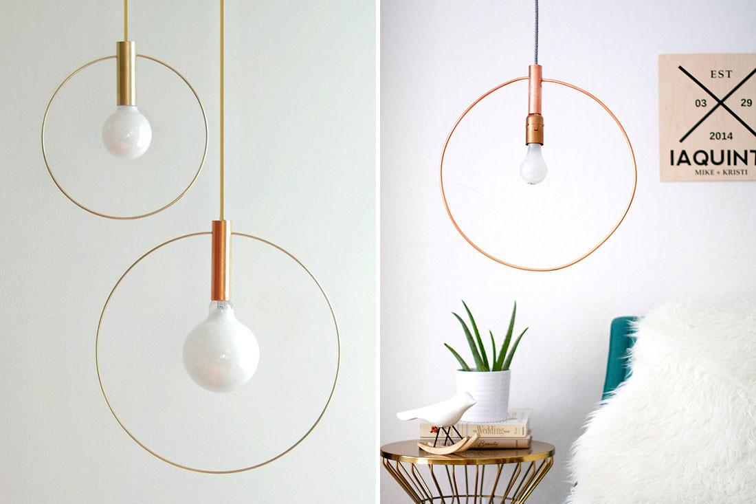 Industrial Touches Exposed Copper Pipe Decorating Projects