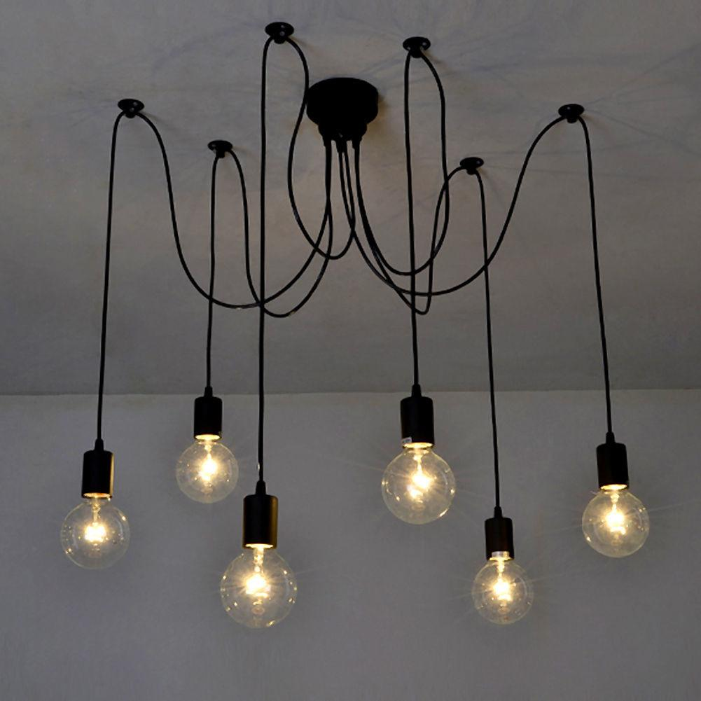 Industrial Vintage Ceiling Lights Retro Lamps Chandelier