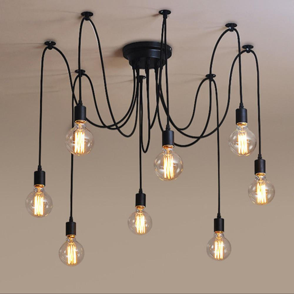 Industrial Vintage Edison Pendant Light Ceiling Lamp Diy
