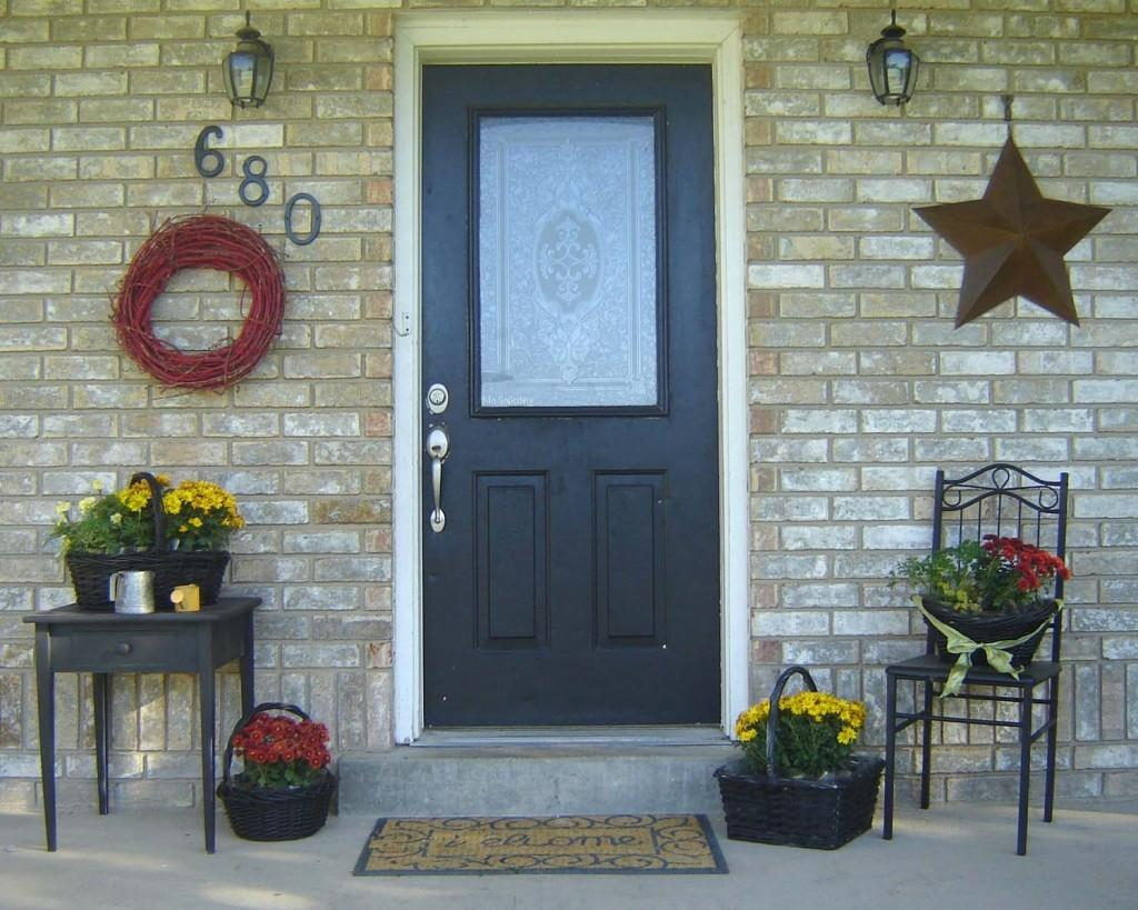 Inexpensive Simple Front Porch Ideas Home Hinges