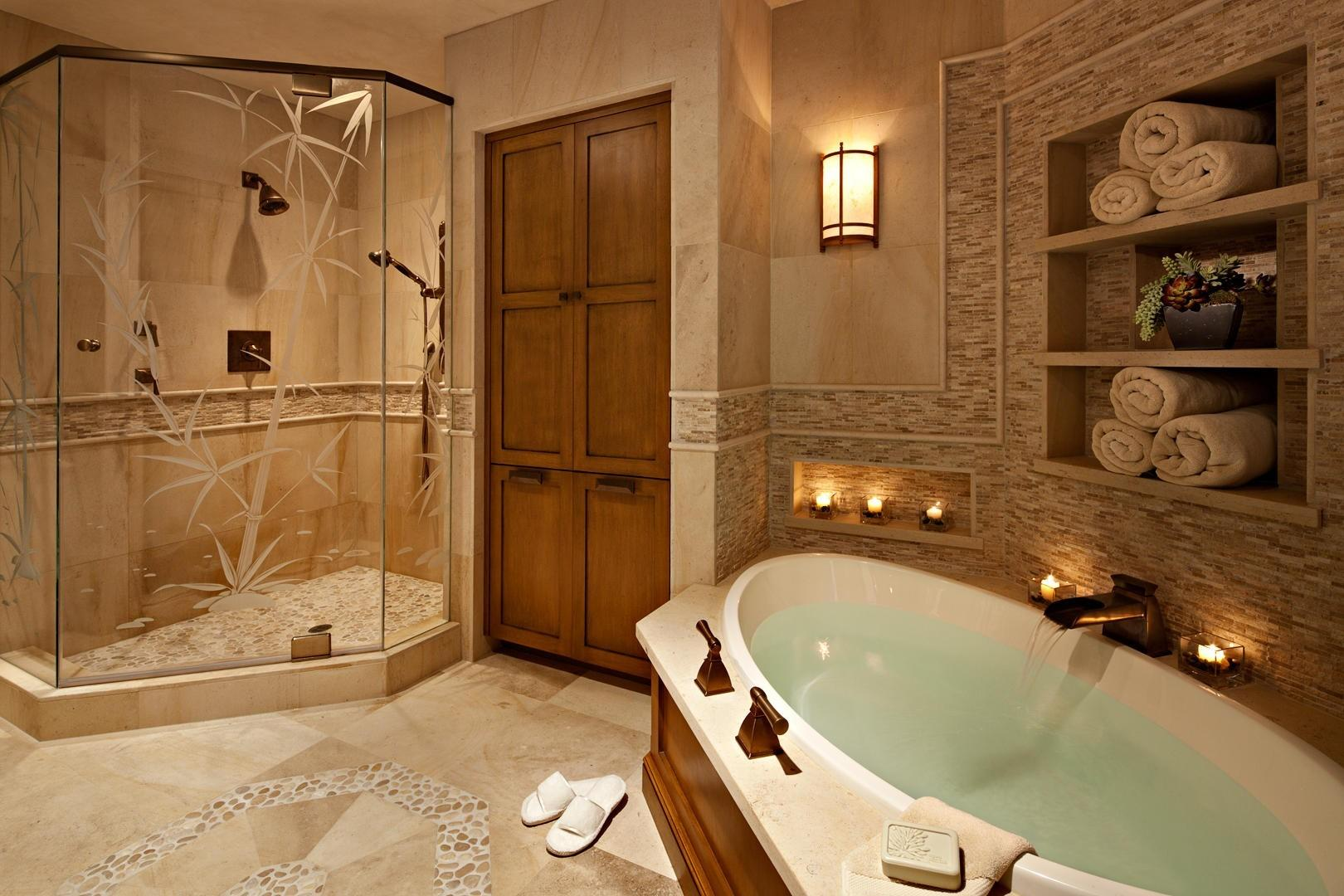 Inexpensive Way Recreate Atmosphere Spa Your Bathroom