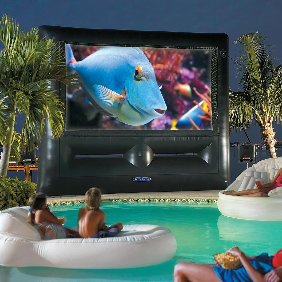 Inflatable Superscreen Outdoor Theater System Ultimate