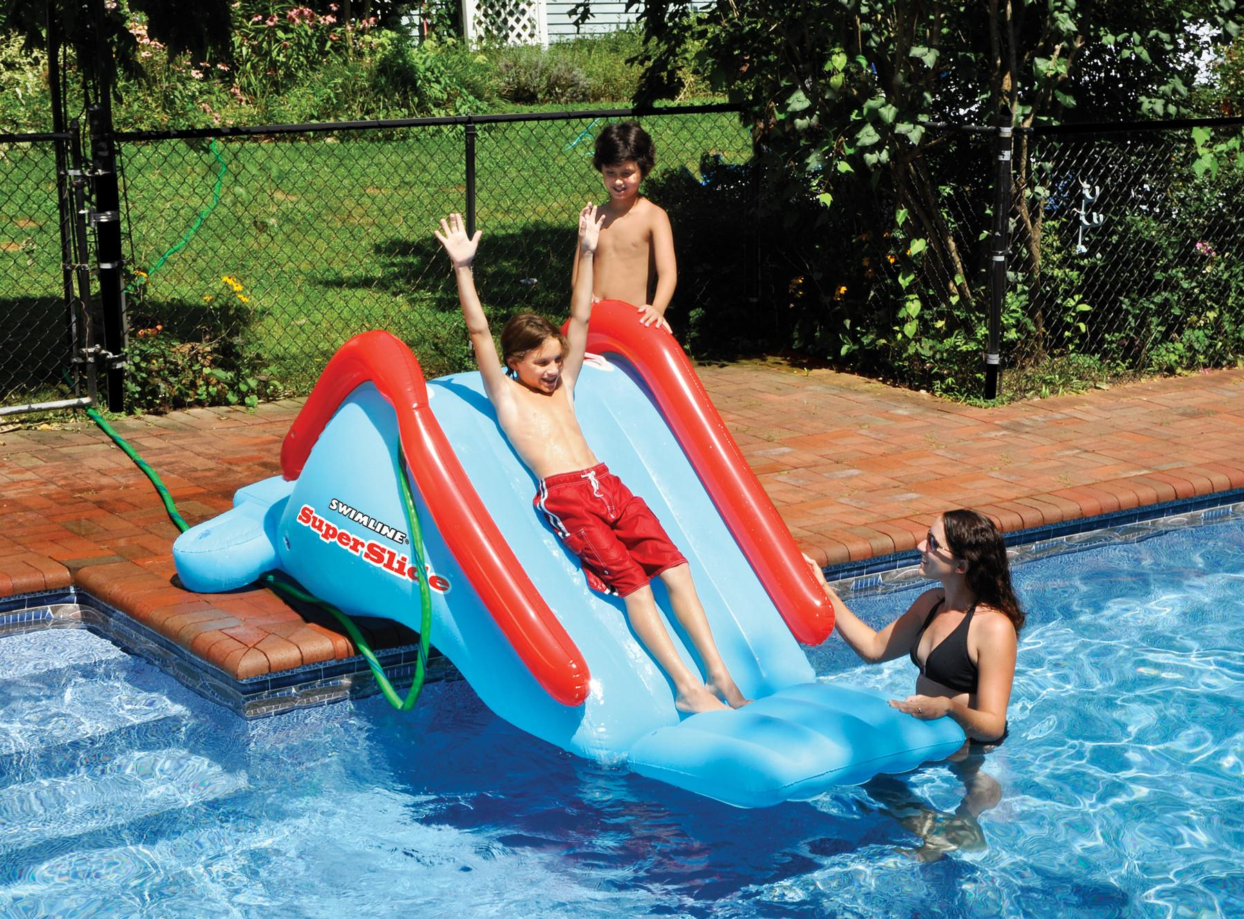 Inflatable Water Slide Swimming Bounce Bouncer Slider Pool