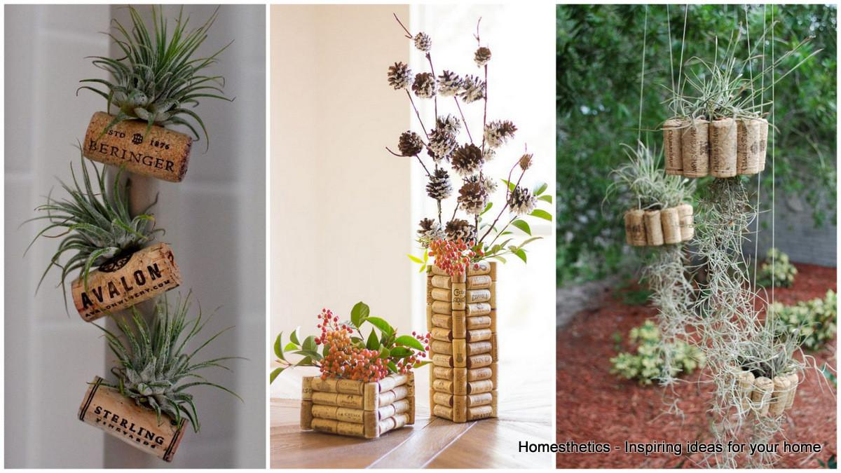 Ingenious Wine Cork Planters Your Little Plants