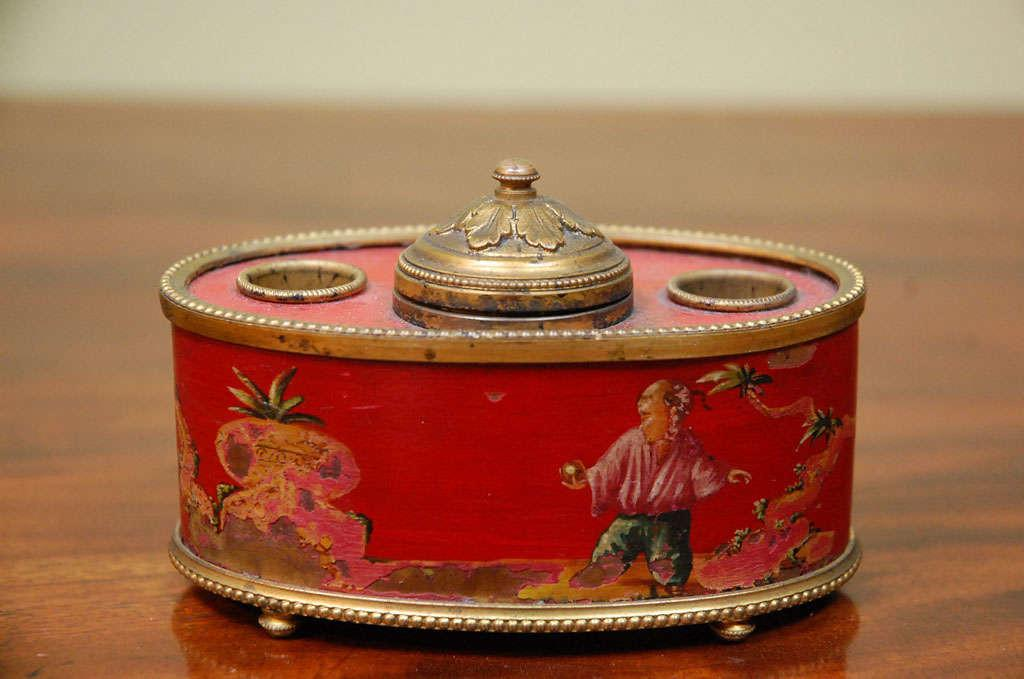 Ink Well Chinoiserie Decoration 1stdibs