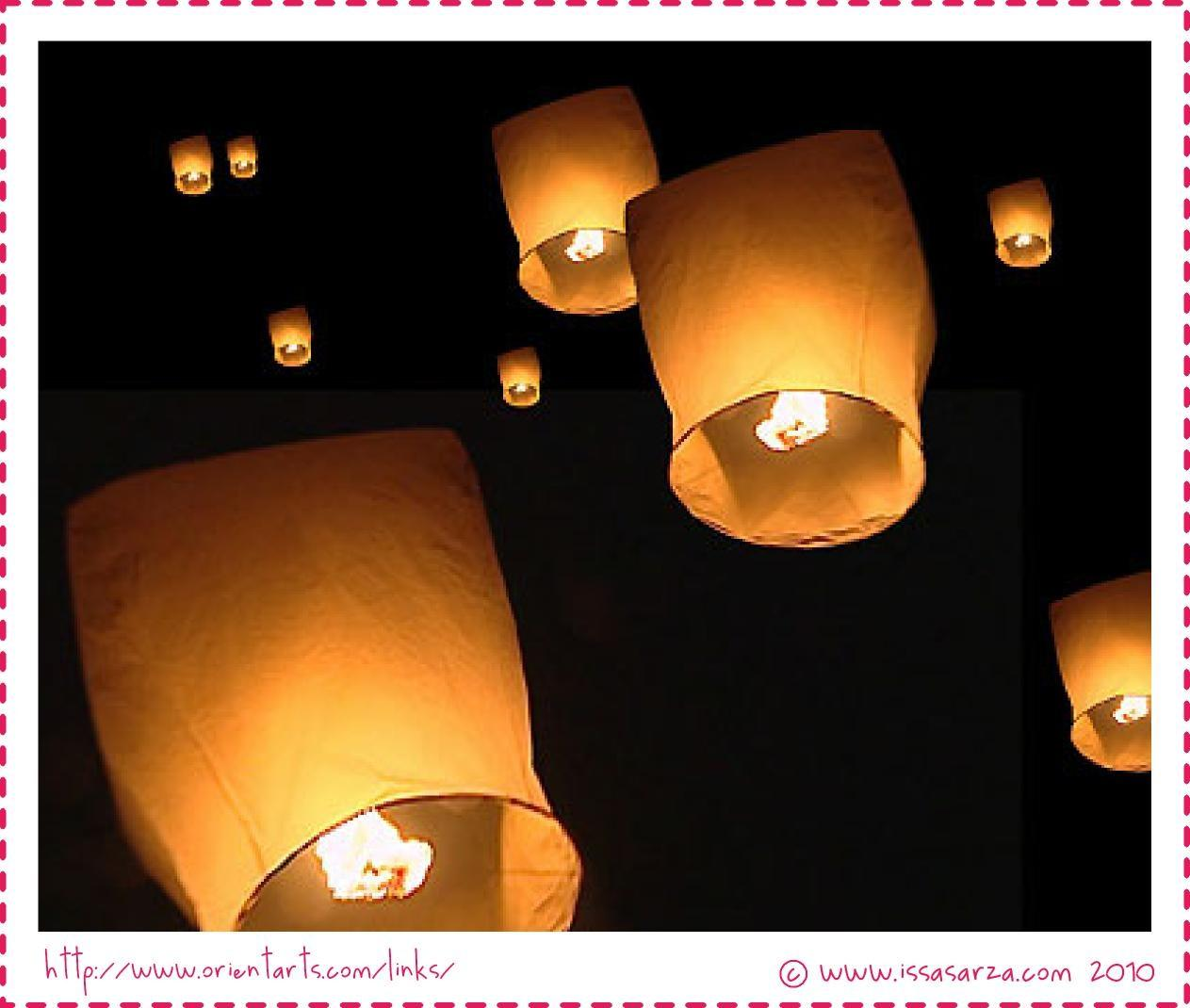 Innermost Thoughts Floating Sky Lantern Just